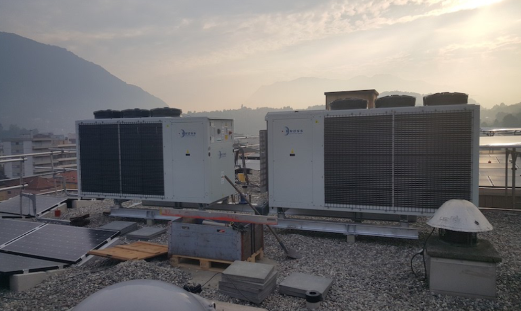 Nuovo impianto di produzione calore 19-19a